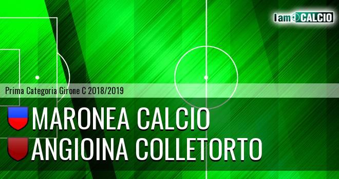 Maronea Calcio - Angioina Colletorto