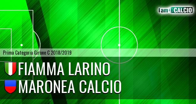 Fiamma Larino - Maronea Calcio