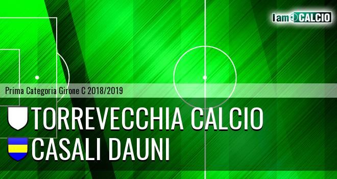 Torrevecchia Calcio - Casali Dauni