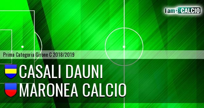 Casali Dauni - Maronea Calcio