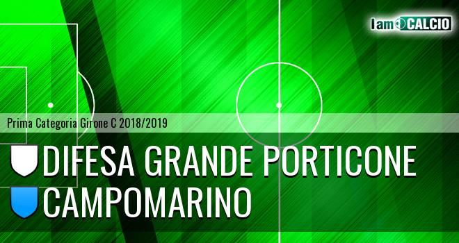 Difesa Grande Porticone - Campomarino