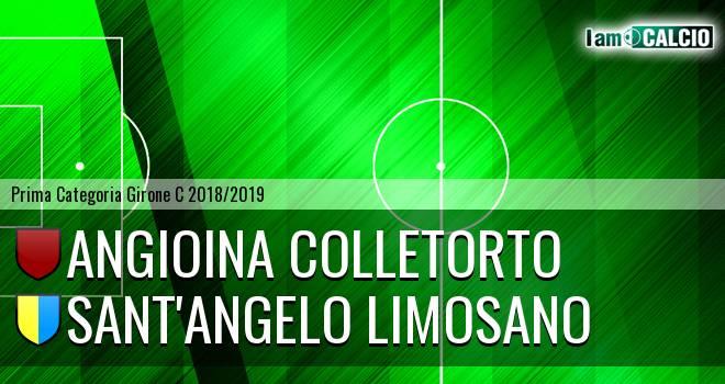 Angioina Colletorto - Sant'Angelo Limosano