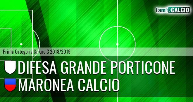 Difesa Grande Porticone - Maronea Calcio
