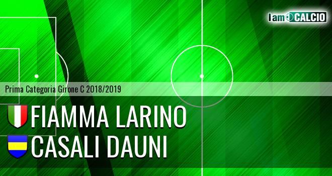 Fiamma Larino - Casali Dauni