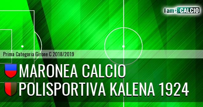 Maronea Calcio - Polisportiva Kalena 1924