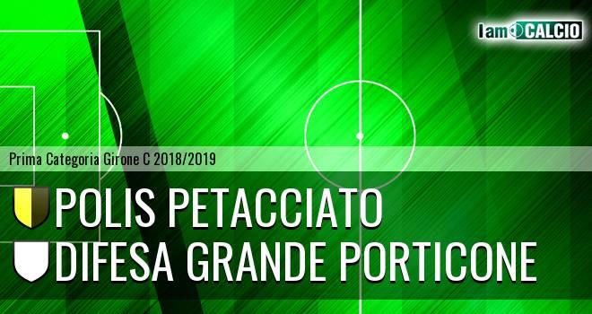 Polis Petacciato - Difesa Grande Porticone