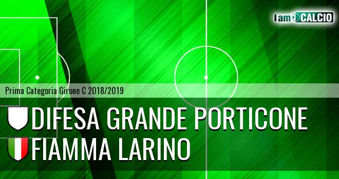 Difesa Grande Porticone - Fiamma Larino