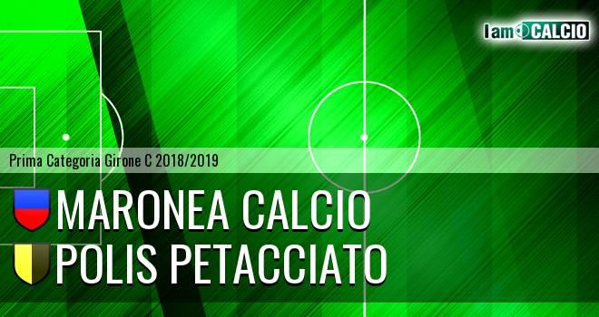Maronea Calcio - Polis Petacciato