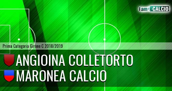 Angioina Colletorto - Maronea Calcio
