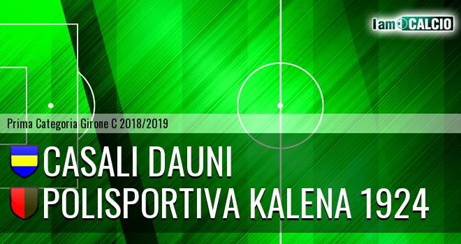 Casali Dauni - Polisportiva Kalena 1924