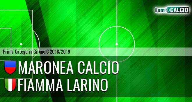 Maronea Calcio - Fiamma Larino