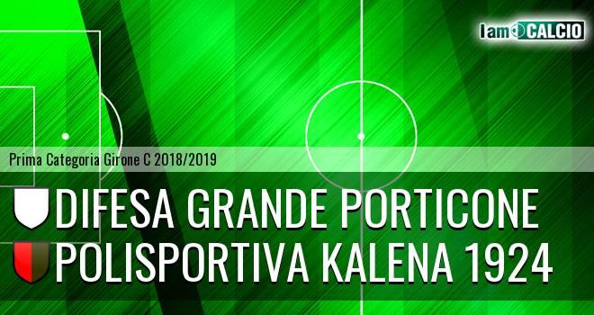 Difesa Grande Porticone - Polisportiva Kalena 1924