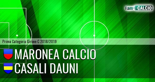 Maronea Calcio - Casali Dauni