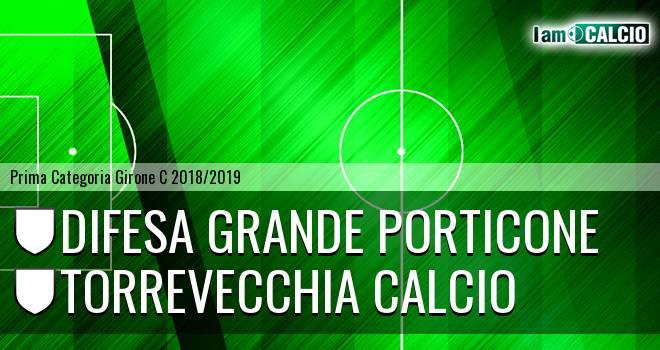Difesa Grande Porticone - Torrevecchia Calcio