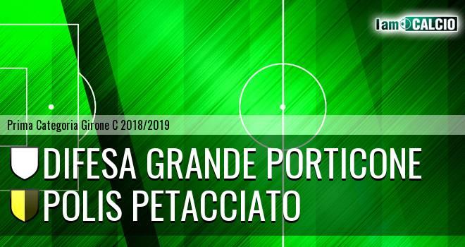 Difesa Grande Porticone - Polis Petacciato