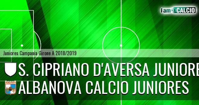 S. Cipriano D'Aversa Juniores - Albanova Calcio Juniores