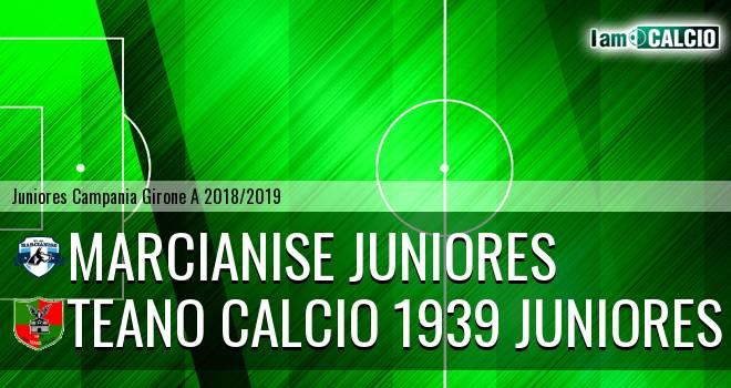 Marcianise Juniores - Teano Calcio 1939 Juniores