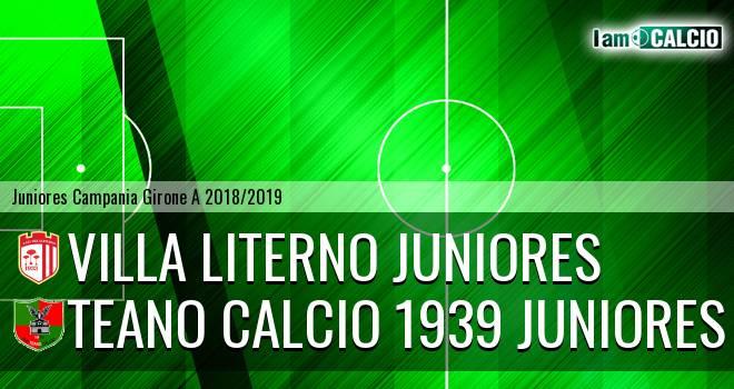 Villa Literno Juniores - Teano Calcio 1939 Juniores