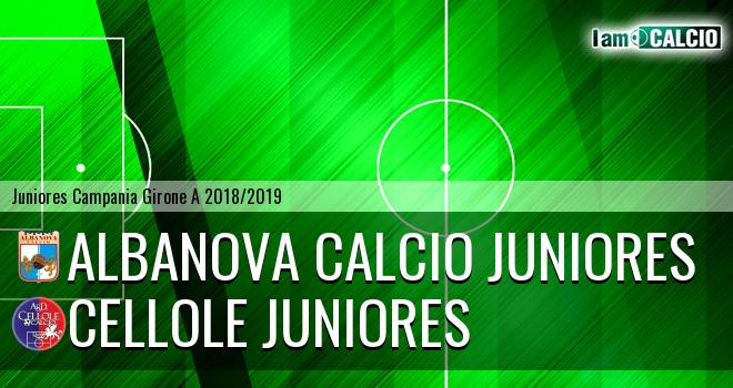 Albanova Calcio Juniores - Cellole Juniores
