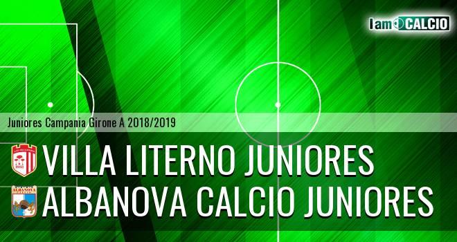 Villa Literno Juniores - Albanova Calcio Juniores