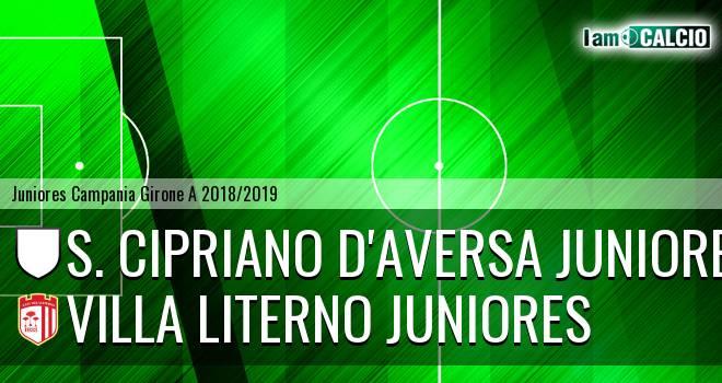 S. Cipriano D'Aversa Juniores - Villa Literno Juniores