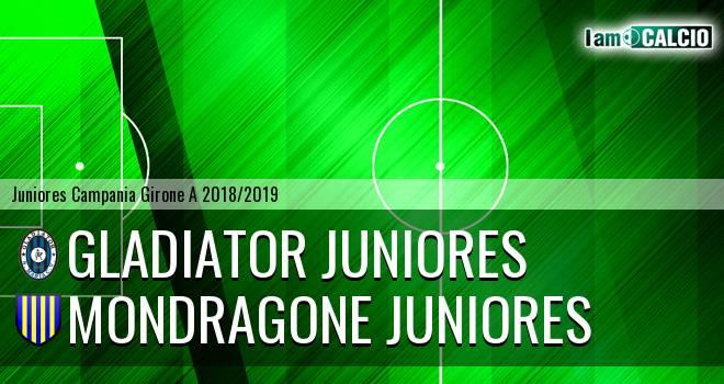 Gladiator Juniores - Mondragone Juniores