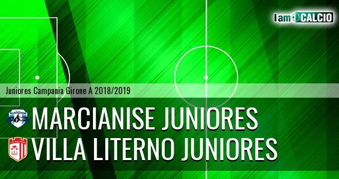 Marcianise Juniores - Villa Literno Juniores