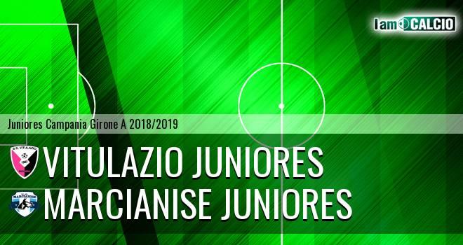 Vitulazio Juniores - Marcianise Juniores