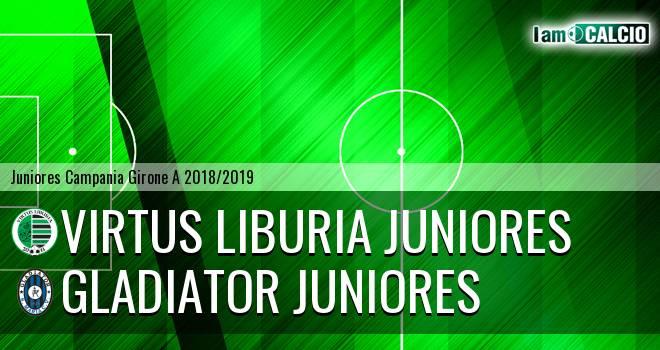 Virtus Liburia Juniores - Gladiator Juniores