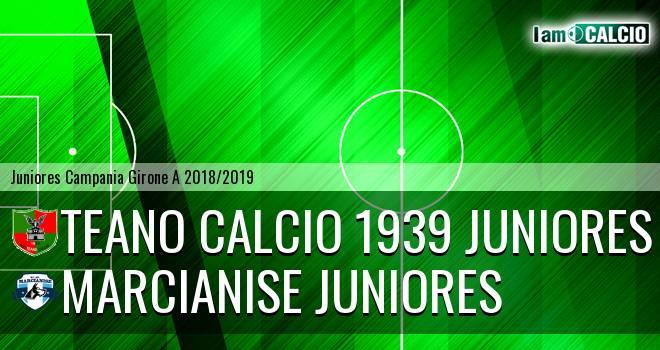Teano Calcio 1939 Juniores - Marcianise Juniores
