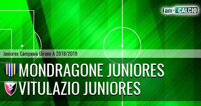 Mondragone Juniores - Vitulazio Juniores