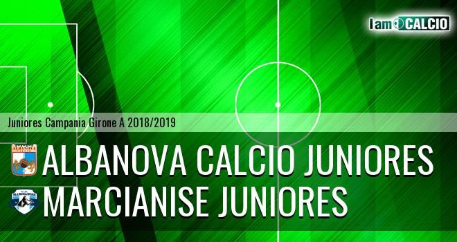 Albanova Calcio Juniores - Marcianise Juniores