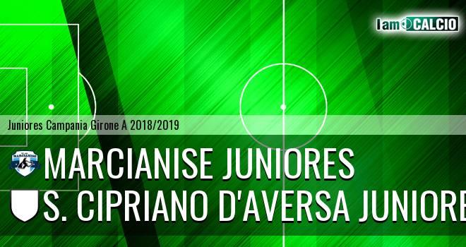 Marcianise Juniores - S. Cipriano D'Aversa Juniores