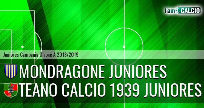 Mondragone Juniores - Teano Calcio 1939 Juniores