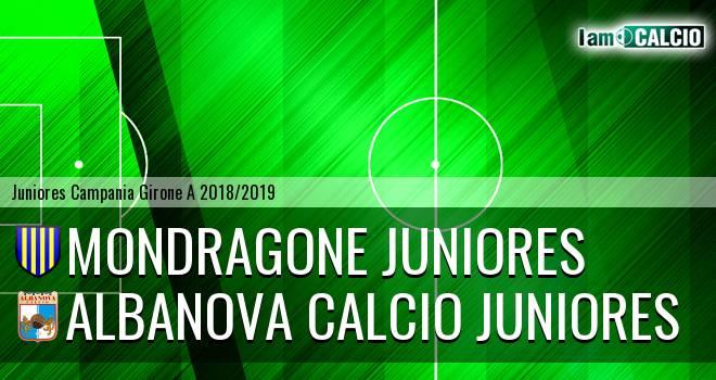 Mondragone Juniores - Albanova Calcio Juniores
