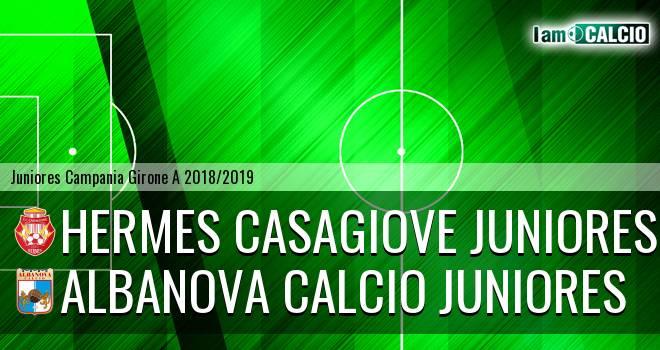 Hermes Casagiove Juniores - Albanova Calcio Juniores