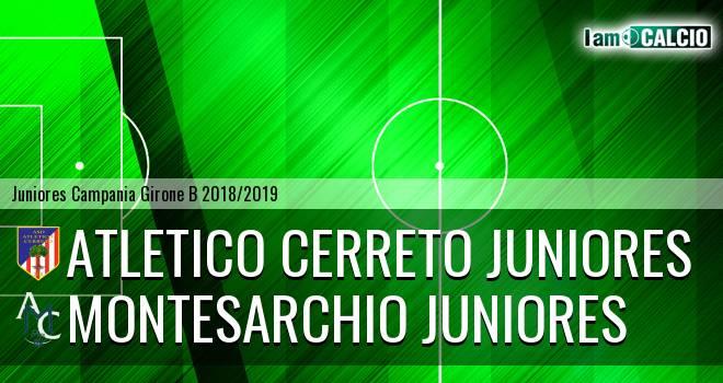 Atletico Cerreto Juniores - Montesarchio Juniores