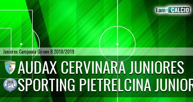 Audax Cervinara Juniores - Sporting Pietrelcina Juniores
