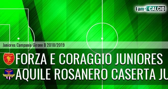Forza e Coraggio Juniores - Aquile Rosanero Caserta Juniores