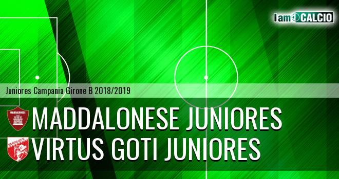 Maddalonese Juniores - Virtus Goti Juniores