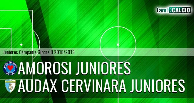 Amorosi Juniores - Audax Cervinara Juniores