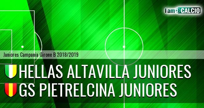 Hellas Altavilla Juniores - GS Pietrelcina Juniores