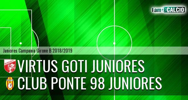 Virtus Goti Juniores - Club Ponte 98 Juniores