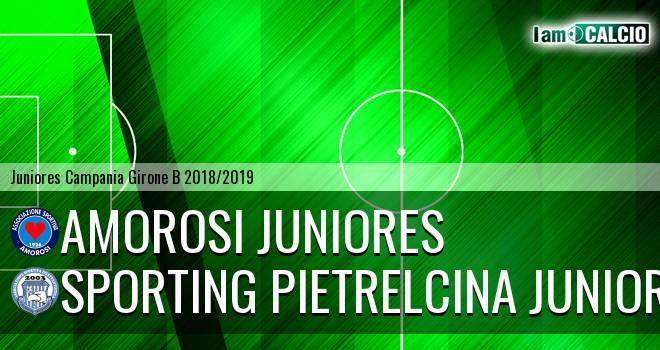 Amorosi Juniores - Sporting Pietrelcina Juniores