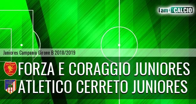 Forza e Coraggio Juniores - Atletico Cerreto Juniores