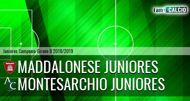 Maddalonese Juniores - Montesarchio Juniores