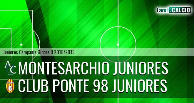 Montesarchio Juniores - Ponte '98 Juniores