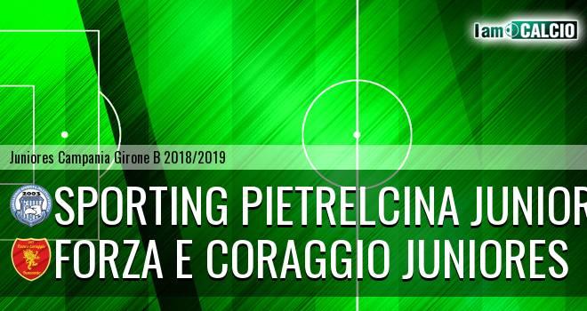 Sporting Pietrelcina Juniores - Forza e Coraggio Juniores