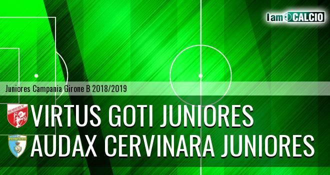 Virtus Goti Juniores - Audax Cervinara Juniores