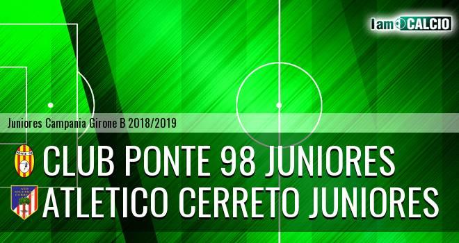 Ponte '98 Juniores - Atletico Cerreto Juniores